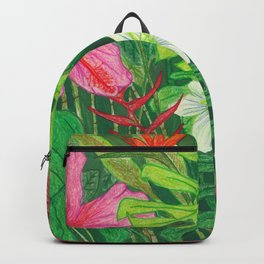 Hawaiian Garden Backpack
