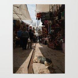 Jefe del mercado Poster