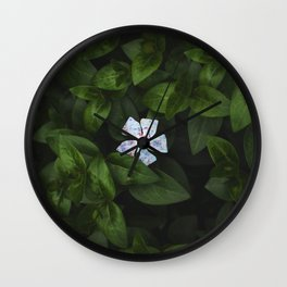 Lonely Flower Wall Clock