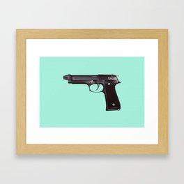 Shoot Something Framed Art Print