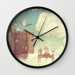 Lets go to school Wall Clock