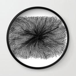 Jellyfish Large B&W Wall Clock