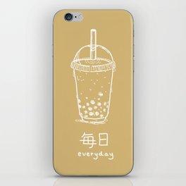 Bubble Tea/ Boba (mainichi) iPhone Skin