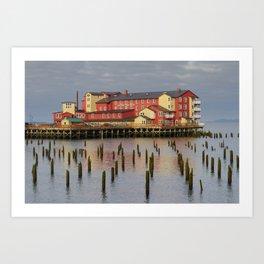 Cannery Pier Hotel Art Print