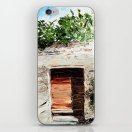 Landscape painting- The door - by LiliFlore iPhone Skin