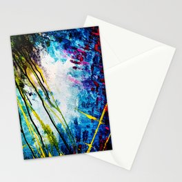 Monster in the reef Stationery Cards