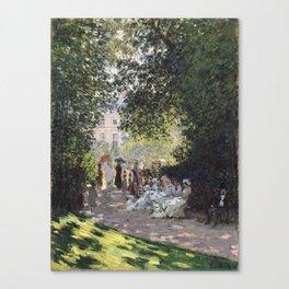 The Parc Monceau Canvas Print