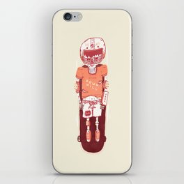 It's All Going Downhill From Here iPhone Skin