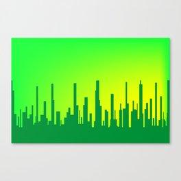 City Greenscape Canvas Print