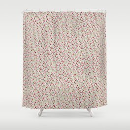 Angry Teddy Shower Curtain