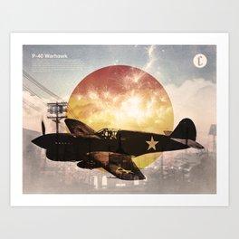 Warhawk Art Print