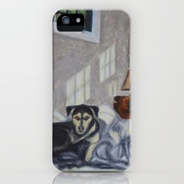 Huckleberry iPhone Case