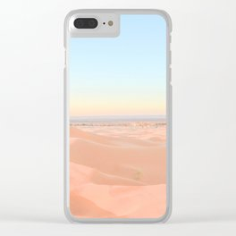 More desert Clear iPhone Case
