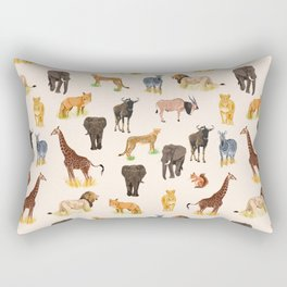 Safari Sightings Rectangular Pillow