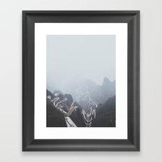 Tianmen Mountain, China Framed Art Print
