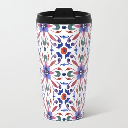 Floral ornament. Watercolor Travel Mug