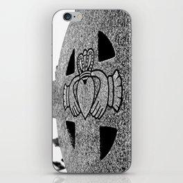 Winter Claddagh iPhone Skin