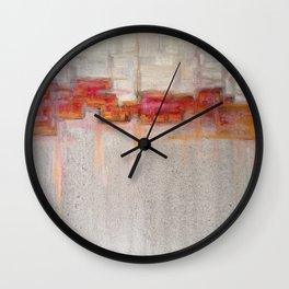 crooked sky Wall Clock