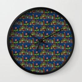 Tiny Town Wall Clock