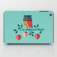 jazzberry iPad Cases featuring OWL ALWAYS LOVE YOU by Daisy Beatrice