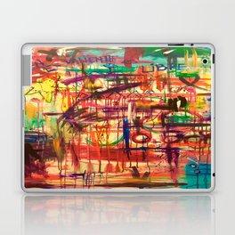 QUIEN ES VALIENTE ES LIBRE Laptop & iPad Skin