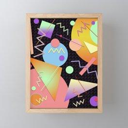 Memphis #412 Framed Mini Art Print