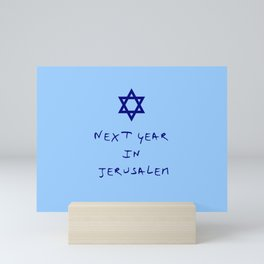 Next year in Jerusalem 8 Mini Art Print