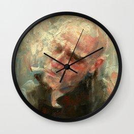 Last Cigarette Wall Clock