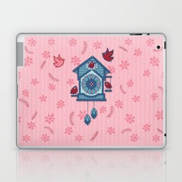 Cuckoo Time blue Laptop & iPad Skin