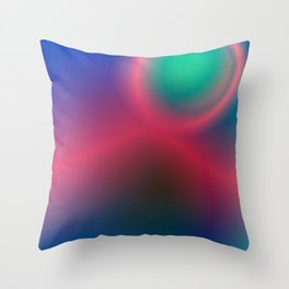 Electric I Throw Pillow