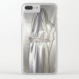 """say no to patriarchy / """"the bride"""" Clear iPhone Case"""