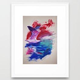 prepare to fly Framed Art Print