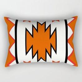 American Native Pattern No. 97 Rectangular Pillow