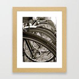 Bike København Framed Art Print