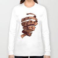 escher Long Sleeve T-shirts featuring E=M.C. Escher by Tom Burns