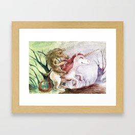 Tikbalang on  Unicorn Framed Art Print