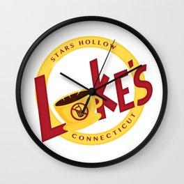 Luke's Diner Wall Clock