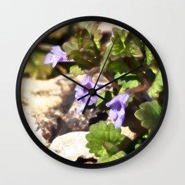 Ground Ivy 03 Wall Clock