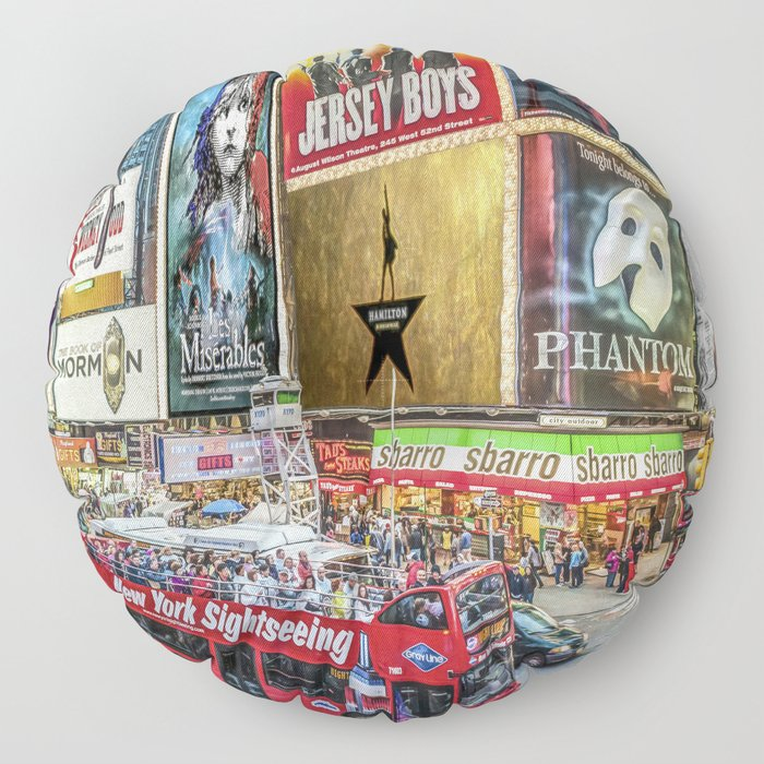 Times Square II Special Edition I Floor Pillow