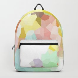 Pastel Abstract Backpack