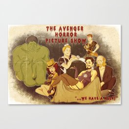 The Avenger Horror Picture Show Canvas Print