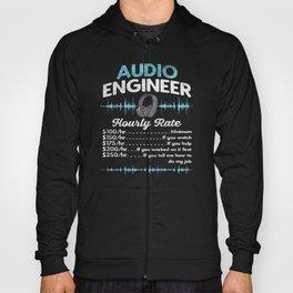 Audio Engineer Hourly Rate Motif Hoody