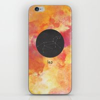leo iPhone & iPod Skins featuring Leo by snaticky