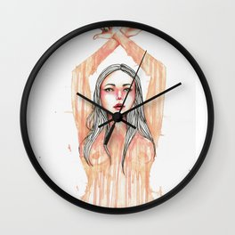 Melt with Me Wall Clock