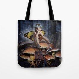 Mad Mushroom Fairy Tote Bag