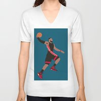 lebron V-neck T-shirts featuring Lebron by rusto