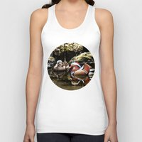 duck Tank Tops featuring Duck by Anand Brai