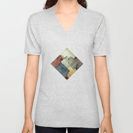 Geometric/Abstract DZ Unisex V-Neck