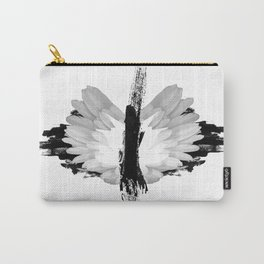 Grunge Butterfly Carry-All Pouch