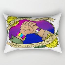 Less Queerbaiting - Impala Version Rectangular Pillow